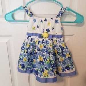 George- Spring Floral Dress 12M